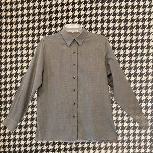 FoxCroft Houndstooth Button Down